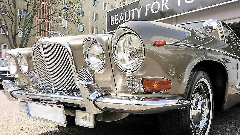 Die perfekte Autopflege, auch für Oldtimer, Swissvax Lackveredelung.