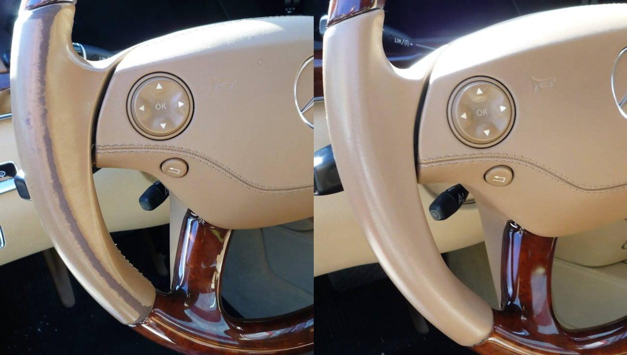 Eine Lenkrad Reparatur ist eine sehr beliebte Smart Repair im Innenraum Reparatur.